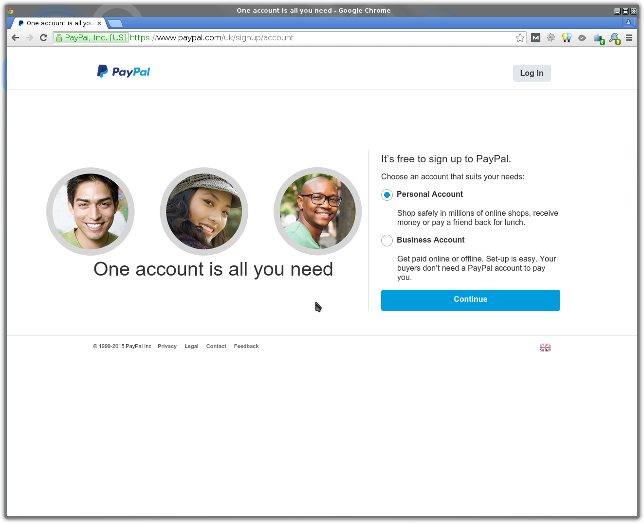 Creating a PayPal Account • VNTWeb