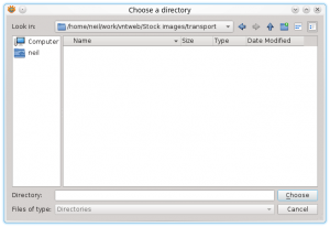 XnConvert Input Tab add Directory