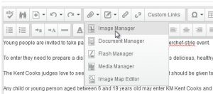 DotNetNuke adding image alt text add media