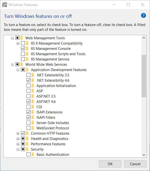 Install IIS on Windows 10 • VNTWeb