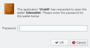Disable KDE Wallet Popups