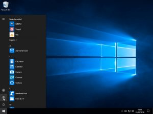 Windows 10 Windows update: select settings
