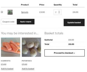 WooCommerce Cross Sell and Upsell products: view basket